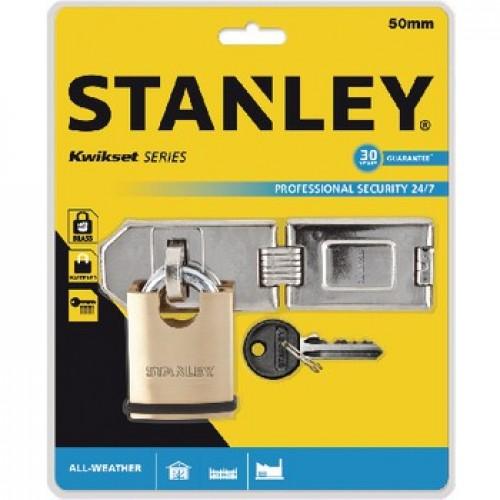 Stanley S742-009 Gizli Asma Kilit 50 mm + Kilit Menteşesi