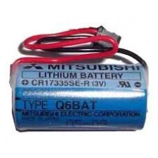 Mitsubishi Q6BAT CR17335 3.0V Lithium Pil